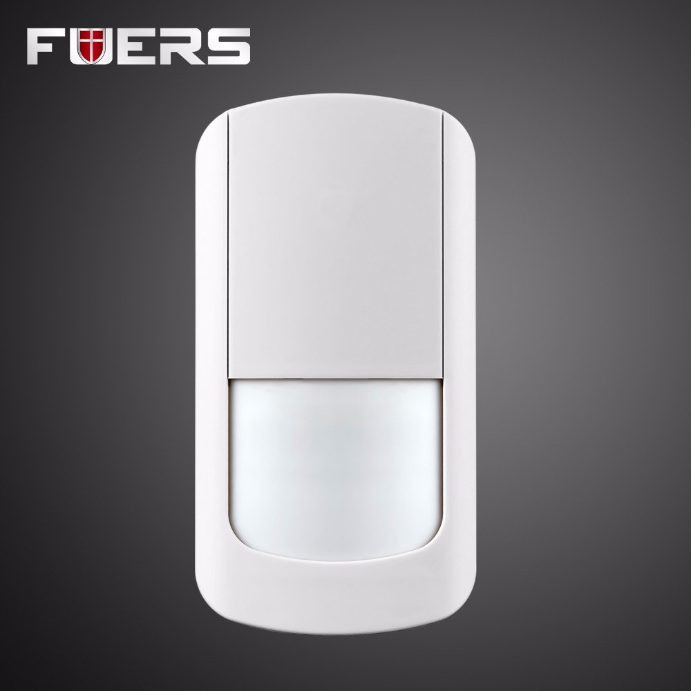 New Wireless Infrared Motion PIR Detector Sensor 433Mhz for G90B Home Security GSM Alarm System