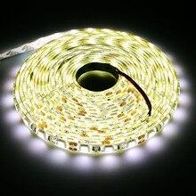 Natur weiß IP65 Wasserdichte Hohe helligkeit 4000 Karat Led-streifen Flexible Lichter DC12V SMD 5050 5 Mt 60led/M led-String Band lampe