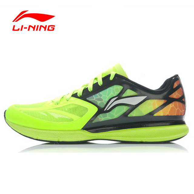 LI-NING Outdoor Running Shoes Men Light Weight Mesh Breathable Cushioning Lace-Up Sneakers Sport Shoes LINING ARBJ009 XYP270