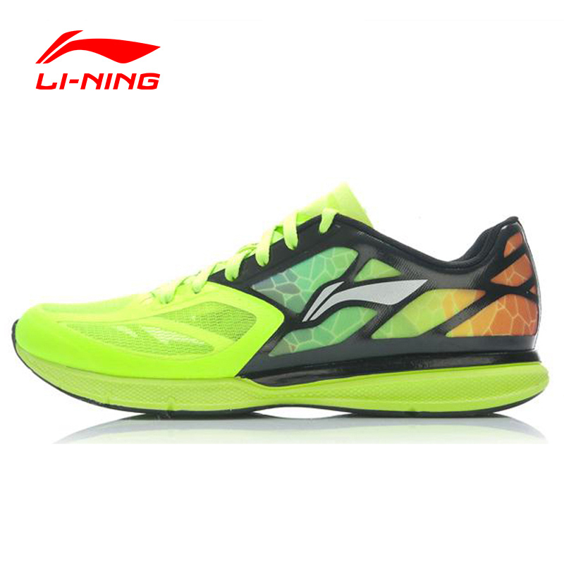 Li-Ning Men Superlight XI Outdoor Running Shoes Light Weight Mesh Breathable Cushion LiNing Sneakers Sports Shoes ARBJ009 XYP270 peak sport speed eagle v men basketball shoes cushion 3 revolve tech sneakers breathable damping wear athletic boots eur 40 50