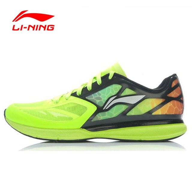 Li-Ning Mens Running Shoes Yellow