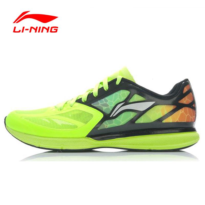 Prix pour Li-Ning Superlight XI de Course En Plein Air Chaussures Hommes Poids Léger Mesh Rembourrage Respirant Dentelle-Up Sneakers Chaussures ARBJ009 XYP270