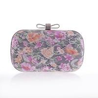 Mini Bag Latest Women S Flowers Party Handbag Exquisite Diamond Bow Lace Evening Bag Wedding Banquet
