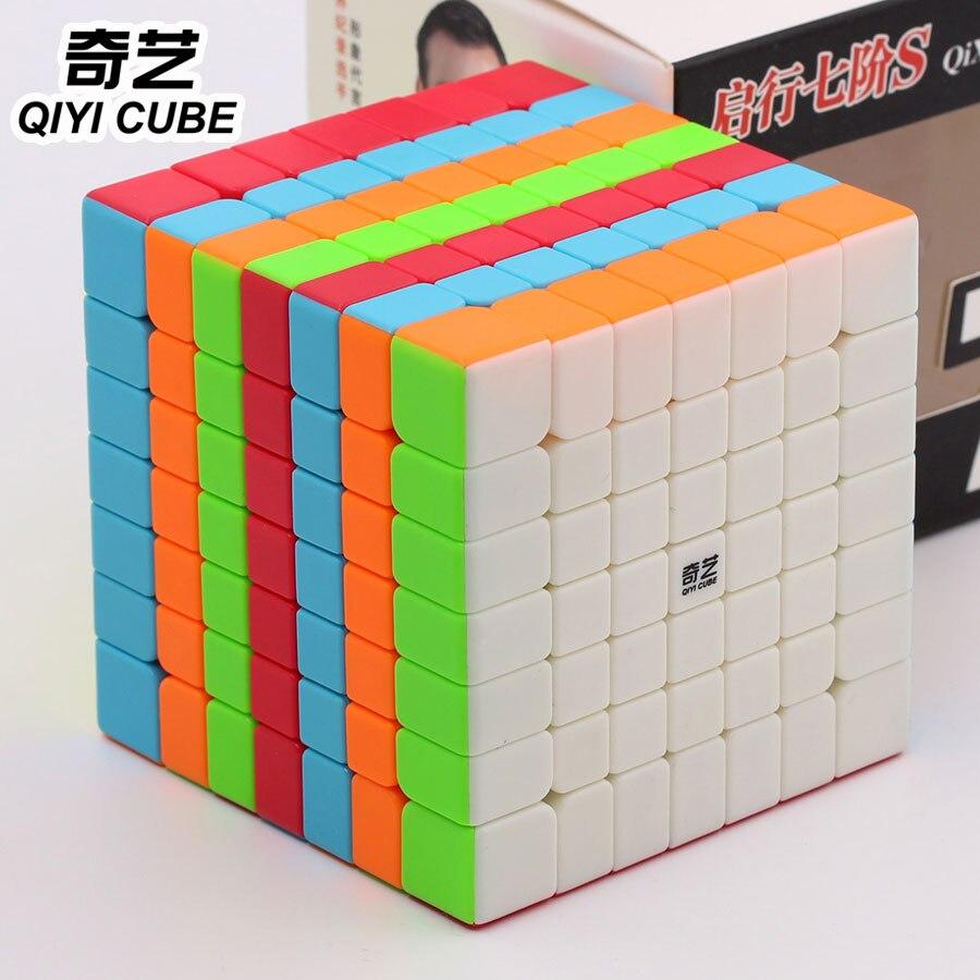 Image 3 - Головоломка магический куб Qiyi куб QiXing S 7x7x7 7*7*7 777 высокий уровень твист мудрые игрушки подарок профессиональная образовательная логическая игра Z-in Волшебные кубы from Игрушки и хобби on AliExpress