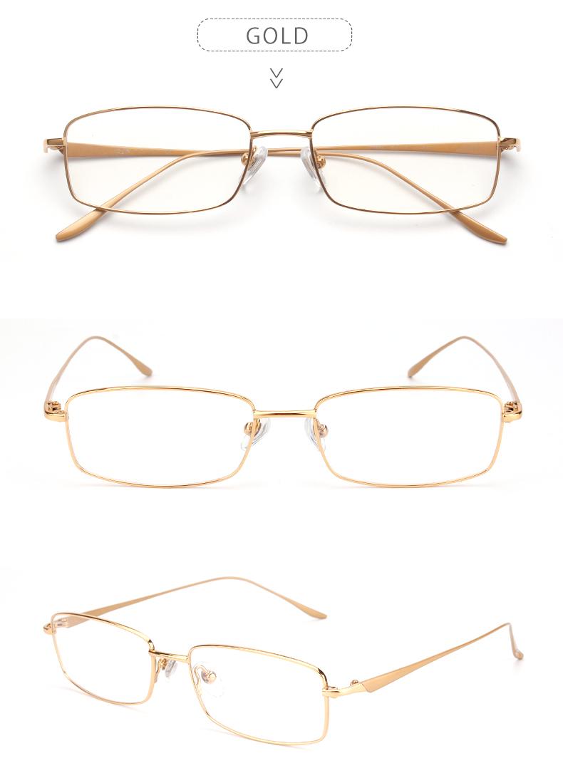 19a758266e Opeco Men s Pure Titanium Eyeglasses Frame RX able Glasses Full Rim Light  Weight Myopia Optical Eyewear  9068