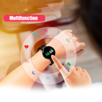 Sport Children Kids Watches for Girls Boys Electronic LED Digital Wristwatch Top Brand SMS Call Big Battery 50mAh