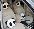 1pcs Cute Lovely Panda Pattern Car Seat Neck / Head Pillow Soft Back Cushion headrest neck pillow Car Seat cover