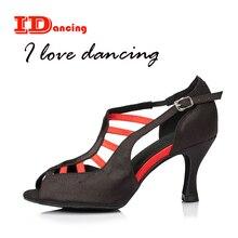 950d9ed8 Zapatos de baile de satén con Puntera abierta zapatos de fiesta para mujer  zapatos de baile de salón de baile negro bronce púrpu.
