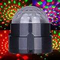 Высокое Качество 3 Вт RGB Crystal Ball Освещение Сцены Авто Actvaed Us plug ФЕН #