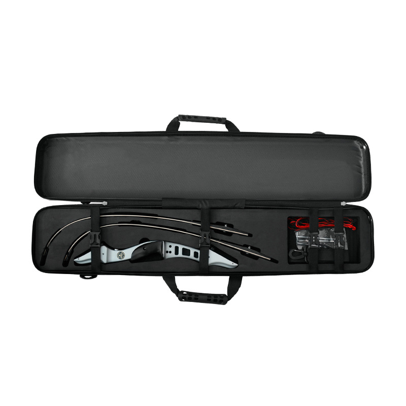 High Quality 95 18 12 cm Recurve Bow Box ABS Plastic Hard Shell Box Suit All