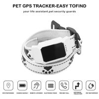 Original Pet Dog GPS Collar Tracker GPS Locator Tracing Finder for Pet Car Kids Tracking Anti Lost Recording Trace Devicer