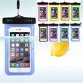 9Colors Waterproof Swimming Diving Underwater Pouch Phone Dry Case Bag for Touchscreen Cell Phone iPhone 6 6s plus Samsung S3 S4