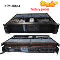 Tipo e 4 Canais laboratório gruppen FP10000Q Amplificador profissional