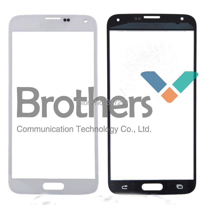 Electroplating Front Screen Outer Glass Lens For samsung S5