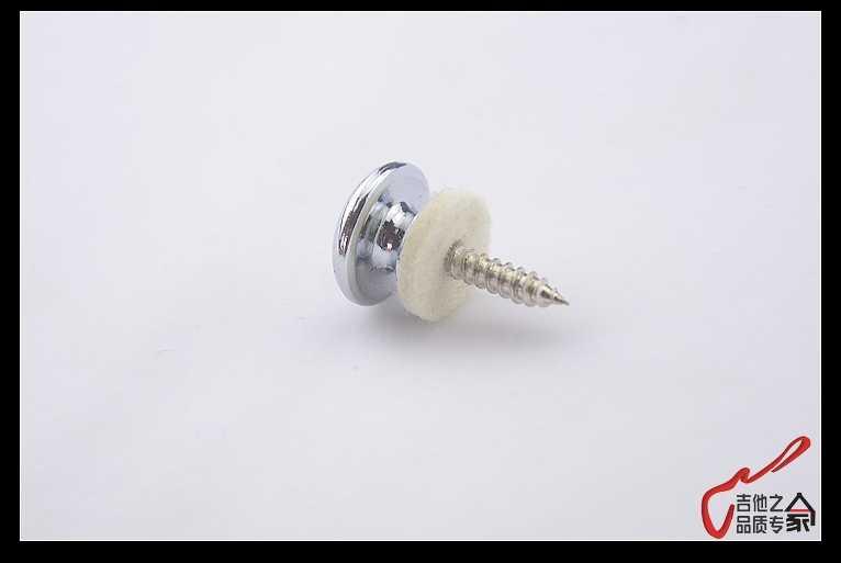 GuitarFamily רצועת כפתור הרגישה מנקי עבור גיטרה ובס תוצרת קוריאה