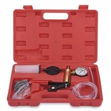 hot deal buy hand held vacuum pump tester set and brake bleeder bleeding tool kit diagnostic tester tools for car can bike