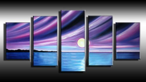 High Quality Landscape Oil Painting On Canvas Guaranteed 100% Free shipping