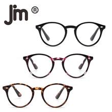 JM Round Reading Glasses Set of 3 Quality Readers Men Women for