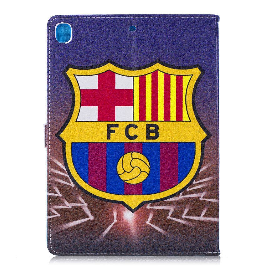 Case For iPad 9 7 2017 with Football giants pattern 9 7 39 39 Tablet Soft PU Leather cases Cover For iPad 5th Generation A1822 A1823 in Tablets amp e Books Case from Computer amp Office