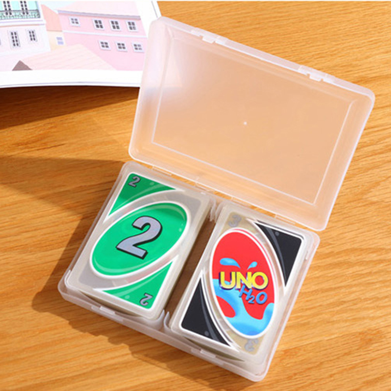 110Pcs Uno Plastic Playing Cards PVC Poker Playing Cards Crystal Waterproof Wareable Ware Resistant Outdoor For Drop Shipping 30
