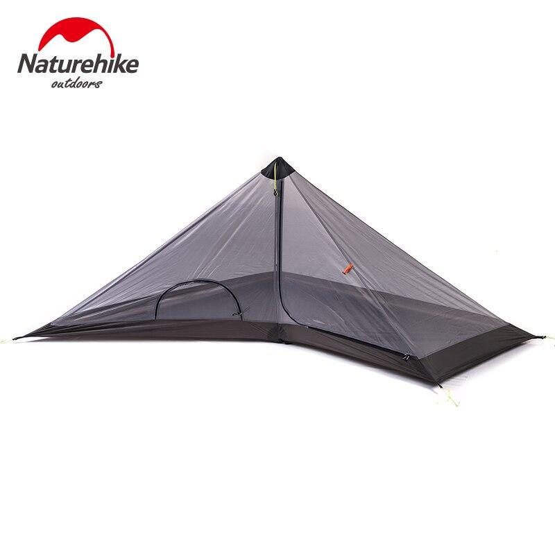 Палатка Naturehike 1 Man, Ультралегкая палатка для пеших прогулок, кемпинга