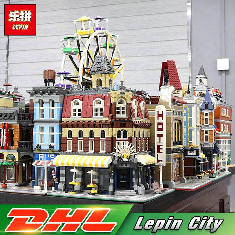 Lepin City 15001 15002 15003 15004 15005 15006 15007 15008 15009 15010 15011 Cafer Corner Building Blocks Bricks Kid Toys 10182