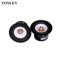 TONLEN 2PCS 4 Inch Full Range Speaker 4 Ohm 8 Ohm 15 W HIFI Loudspeaker Portable