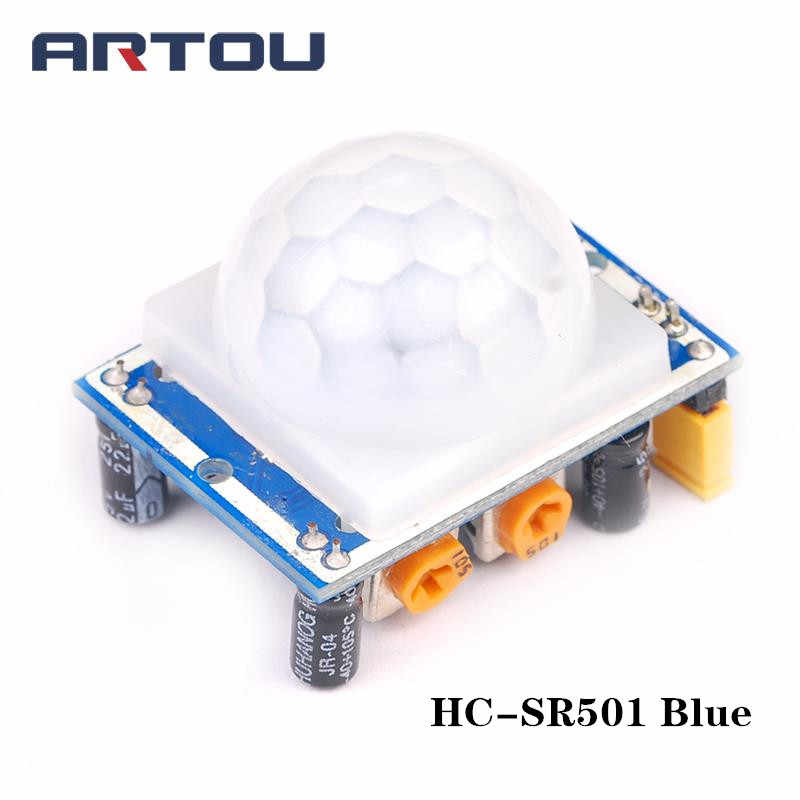 HC-SR501 HC-SR505 MH-SR602 ضبط IR الأشعة تحت الحمراء Pyroelectric البسيطة PIR الإنسان مستشعر وحدة قوس لاردوينو