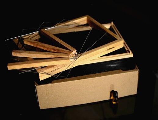 Illusion tirelire Wonder Box Dream Box tours de magie amusant scène mentalisme Gimmick accessoires objets argent apparaissent de la boîte vide Magia