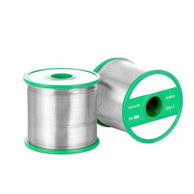 Lead free 0.8mm/1.0mm/0.3mm/0.6mm Tin Solder Wire Spool Reel Solder ...