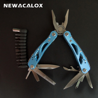 Outdoor Multitool Pliers Pocket Knife Pocket Portable Fishing Repair Survival Hand Multi Tools Mini Fold Folding