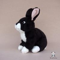 Black Rabbit Doll Toy Cute Plush Rabbits Baby Toys Simulation Animal Birthday Gift