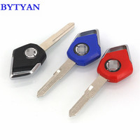 BYTYAN Free delivery Motorcycle Accessories For KAWASAKI H2 H2R Motor Parts Embryo Uncut Blade Blank Keys Moto bike key