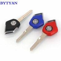 BYTYAN Free delivery Motorcycle Accessories For KAWASAKI H2 H2R Motor Parts Embryo Uncut Blade Blank Keys Moto bike key