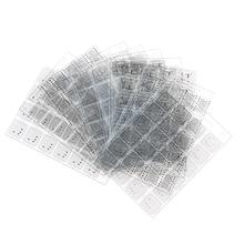 10pcs/set IP BGA Stencil UV Curing Solder Mask ink net Tool For iPhone iPad NAND
