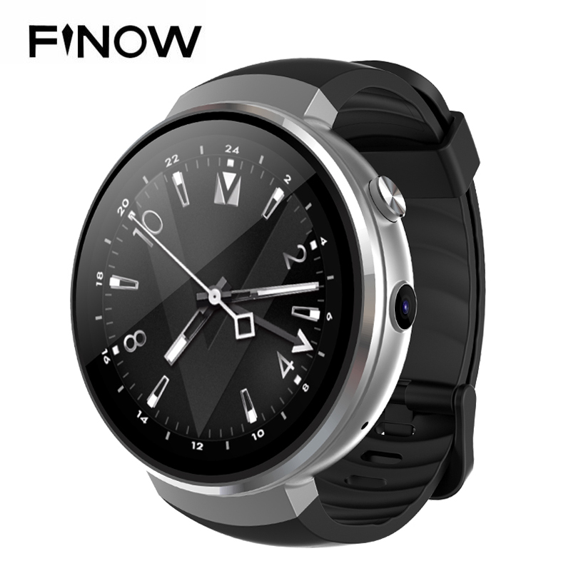 2018 4G Smart Watch Android 7.0 Watch Phone LTE 4G Round SmartWatch Phone Heart Rate 1GB + 16GB Fitness Tracker For Men/Women dm18 4g smartwatch android watch phone 1gb 16gb heart rate blood pressure fitness tracker gps sim smart watch men pk kw88 kw98