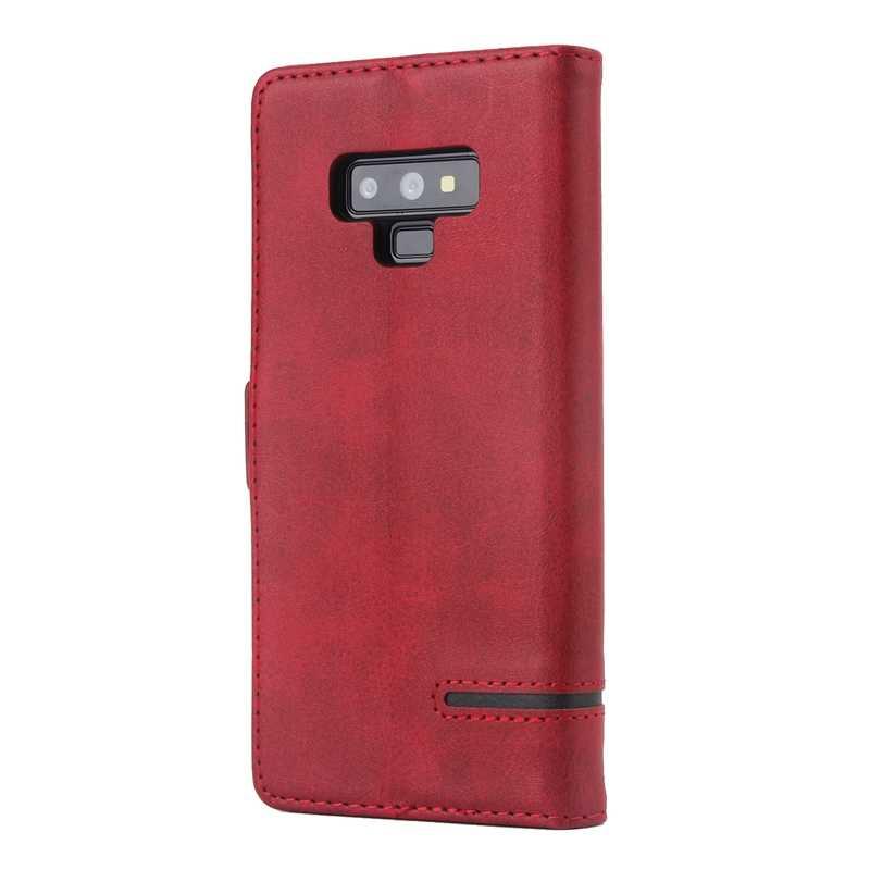 S10 Dành Cho Samsung Galaxy Samsung Galaxy S8 S9 S10 Plus Note 8 Note 9 PU Cổ Điển Bao Da Flip Wallet Dành Cho Samsung s10 Lite Bảo Vệ Da