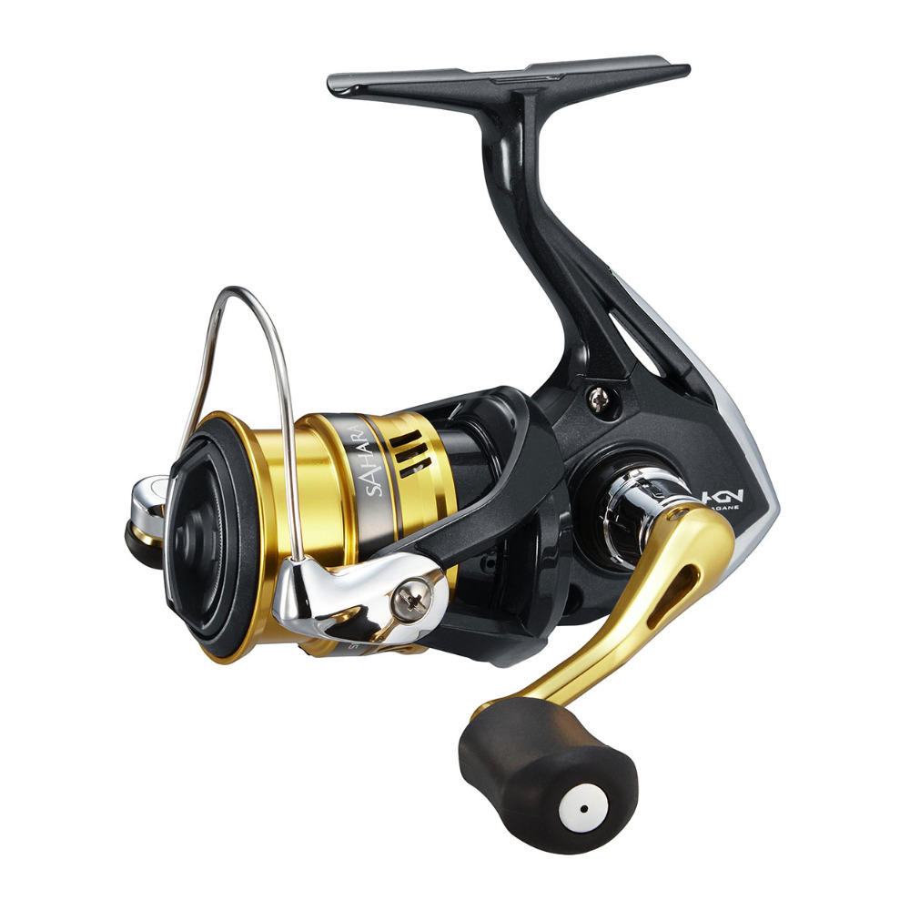 New Shimano SAHARA FI 1000 - 4000XG Series Spinning Fishing Reel 5.0:1/6.2:1 4+1BB Hagane Gear X-Ship Saltwater Fishing Reel цена