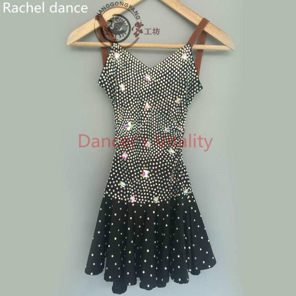 29237e421 Women Latin Dance Dress Fringe Women Ballroom Dancing Dresses Latin Dance  Costume Dance Latin Dresses Tango Dress Samba Skirts ~ Super Deal June 2019