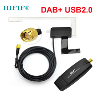 USB 2.0 Digital DAB + Radio Tuner Receiver Stick For Android Car DVD Player Autoradio Stereo USB DAB Android Radio Car Radio