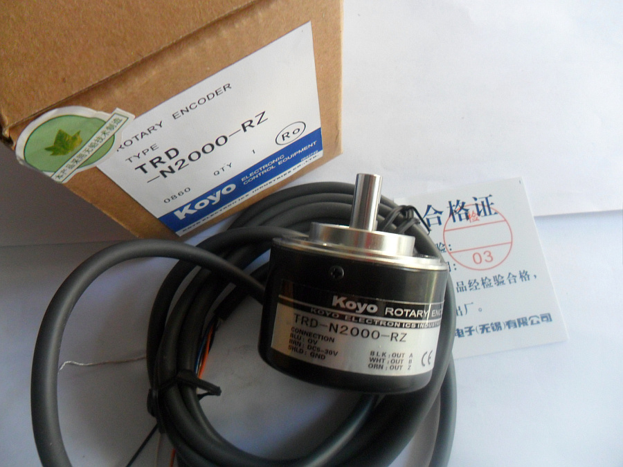 ФОТО TRD-N200-RZ Koyo inkjet printer encoder photoelectric encoder speed encoder