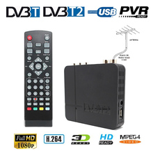 H.264 MPEG-2/4 For Russia Europe Terrestrial Digital TV Box Signal Receiver Fully Comply Support DVB-T DVB-T2 Decoder TV Tuner