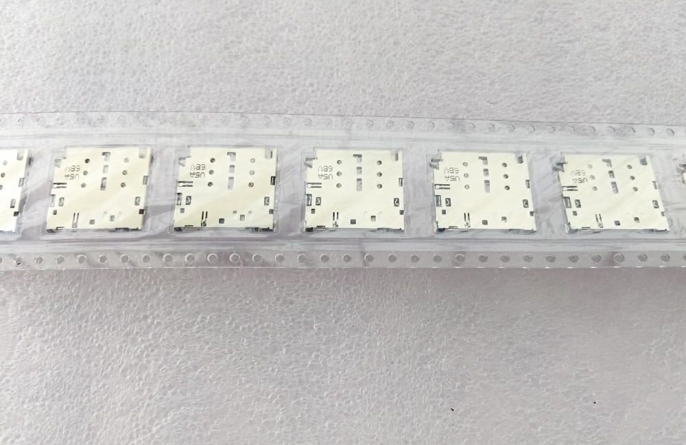 5-200PCS/LOT, Original new for Samsung Galaxy Note 5 N920 N920A N920P M9200 N920F sim card reader connector holder socket module
