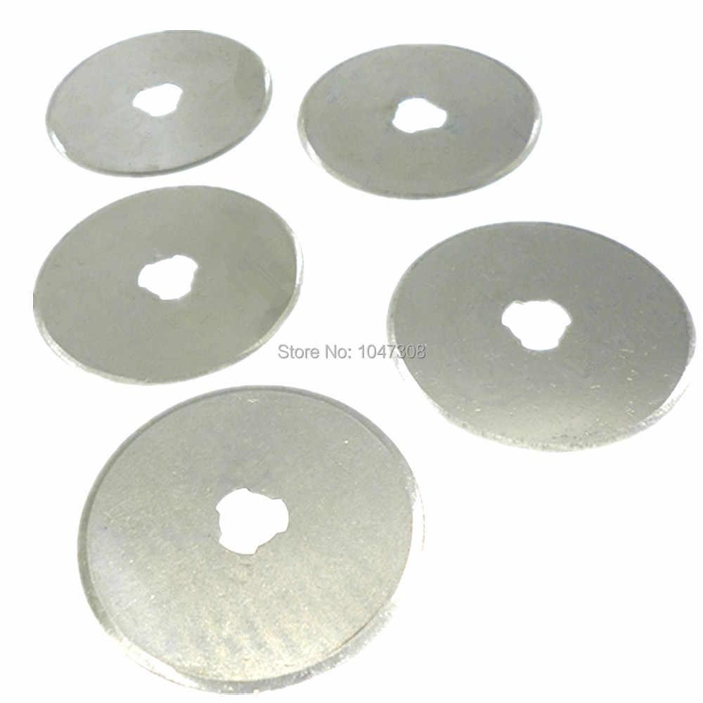 1/5/10pcs 28 millimetri 45mm Rotary Cutter Lame di Taglio di Tessuti Quilt Artigianato Cucito Quilting 45mm Rotary Cutter Lama Di Ricambio