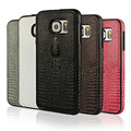 Luxury Genuine Real Leather Phone Case Cover For S6 Case Accessories Crocodile Head Pattern Leather Case For Samsung Galaxy S6
