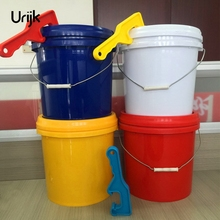 Urijk 1Pc 3Colors ABS Can Opener Plastic Gallon Bucket Pail Paint Barrel Lid Tool