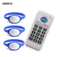 10pcs/lot Universal 13.56Mhz RFID Wristband Bracelet 1k S50 Proximity Adjustable NFC Smart Watch Type with one copier