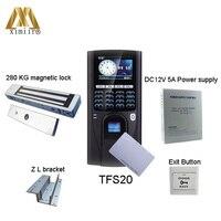 Хорошее качество TFS20kit с RFID чип, отпечаток пальца система контроля доступа