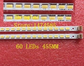 10 pieces/lot 60LED SSL400-0E2B LJ64-03029A LTA400HM13 LTA400HM01 LED backlight strip forLE4050b LE4052A LE4050 40INCH-L1S-60