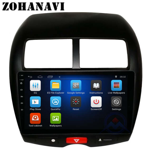 ZOHANAVI Android Car dvd gps for Mitsubishi ASX Outlander Sport Peugeot  4008 Citroen C4 Aircross radio multimedia system